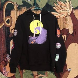 Tim burton hoodie